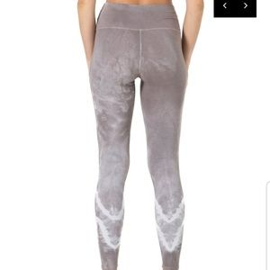 electric and rose Pants - Electric and rose sunset legging set $old